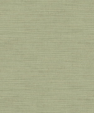 Zora Light Green Linen Texture Wallpaper- Its light green wallpaper has a linen inspired design that softly glimmers with mica details, while raised inks add to its realistic look.