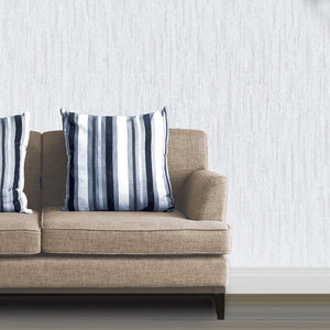 Wheeler Ivory Texture Wallpaper-brilliant ivory wallpaper. Its opulent textured design is accented by silver glitter details. hung in living room
