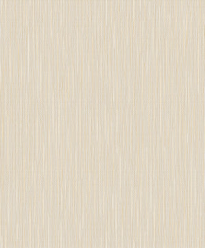 Lawrence Ivory Grasscloth Wallpaper-Shimmering gold and ivory hues dazzle in this grasscloth inspired design. Complete with raised inks, this glamorous print has a realistic look of woven fibers.