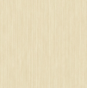 Vail Champagne Texture Wallpaper-Raised inks and dazzling metallic undertones combine for a chic striped-texture effect while champagne and cream hues create a versatile design