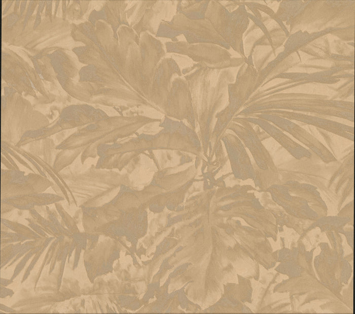 Boyce Bronze Botanical Wallpaper