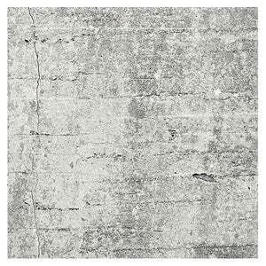 Eiffinger Absolute Concrete Light Grey Graphic Mural-SKU#356201- with absolutely light written graffiti style on wall paper
