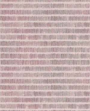 Eijffinger Solemn Lines Pale Pink Wall Mural-SKU#369157-pink wall mural. The simple design has stripes of thin one inch lines that create the print. Metallic inks add a shimmering finish.