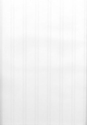 Wainscoting Wood Panel Paintable Wallpaper-The highly textured relief of this wallcovering creates a striped wood paneling effect that is totally color customizable