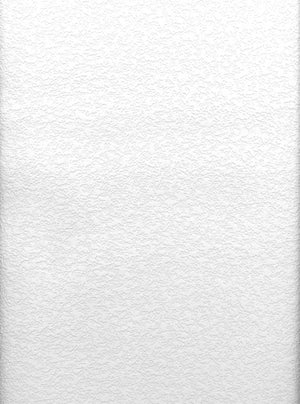 Styrene Raised Stucco Texture Paintable Wallpaper-A puckered look similar to stucco or drop ceilings with an authentic embossed texture. done in white