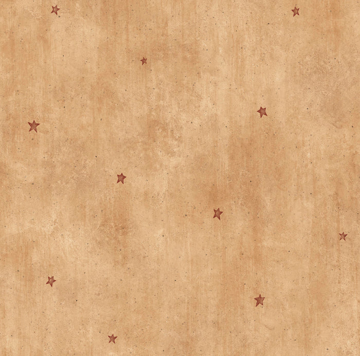 Dusty Sand Heritage Star Toss Wallpaper