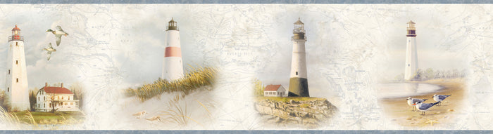 Arya White Lighthouse Coast Border