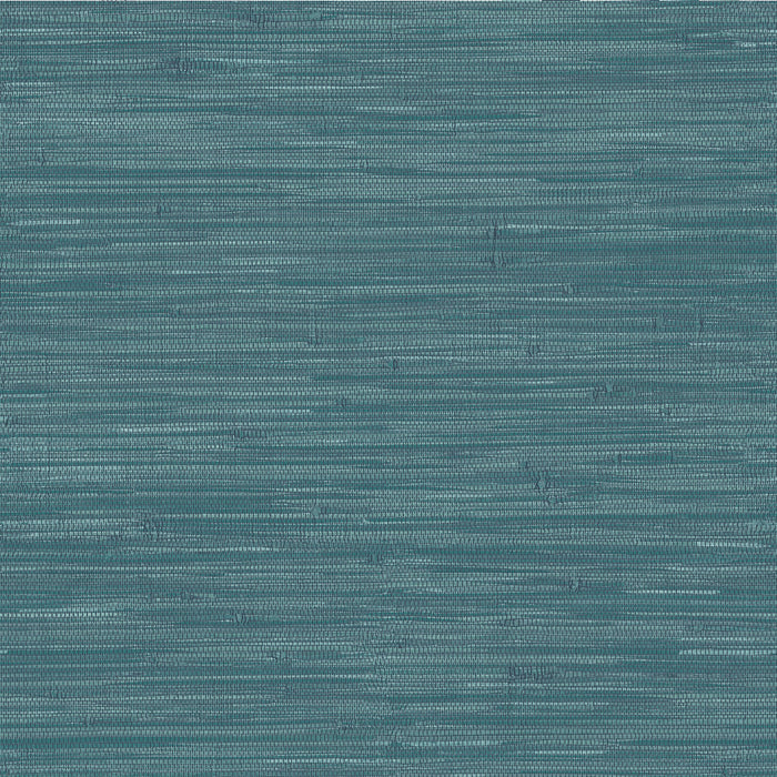 Navy Grassweave Peel & Stick Wallpaper
