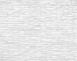 White Slate Wall Mural-white slate with whitewashed design.