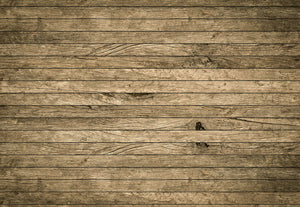 Vintage Aged Wooden Wall Wall Mural-grain and knot details with the appearance of actual worn wood.