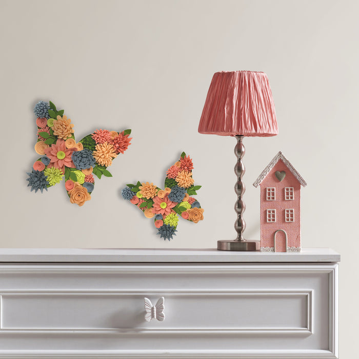 Butterfly Bouquet 3D Wall Art Kit