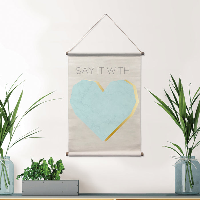Say It Wall Tapestry