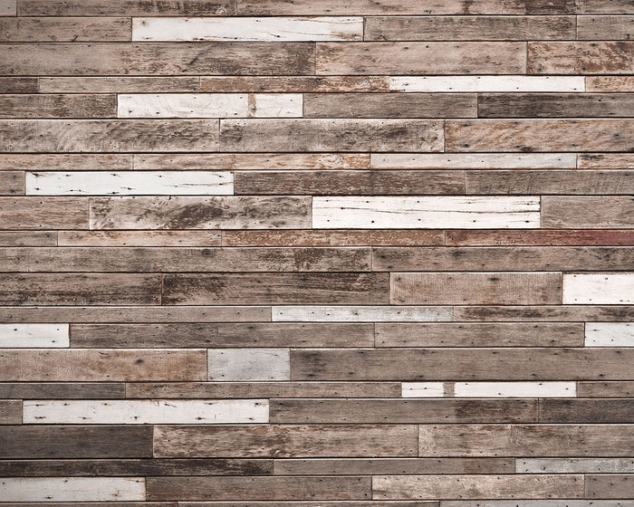 Wooden Planks Wall Mural