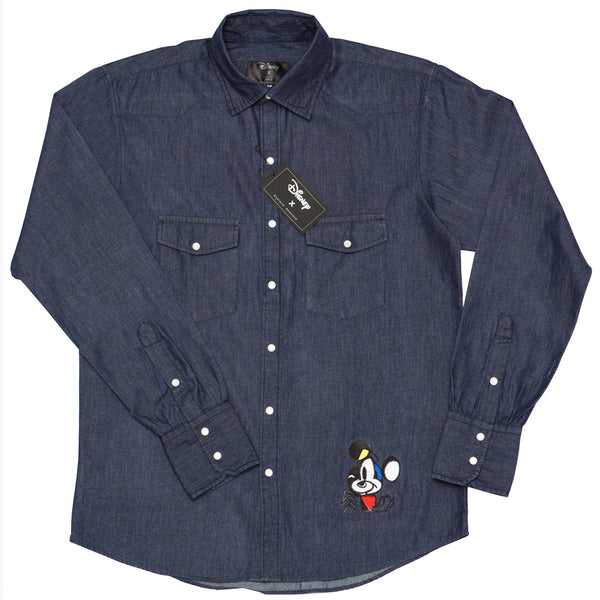 CAMISA MICKEY D. DENIM