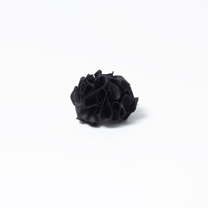 SILK BLACK FLOWER