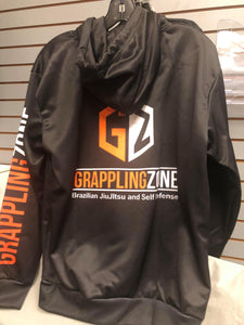 GZ Hoodie Black  and Grey Adult Sizes Only   S  to XXXL