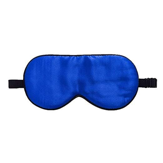 ZIMASILK 100% Natural Silk Sleep Mask Blindfold,Adjustable Super-Smooth Soft Eye Mask for Sleep with Bag
