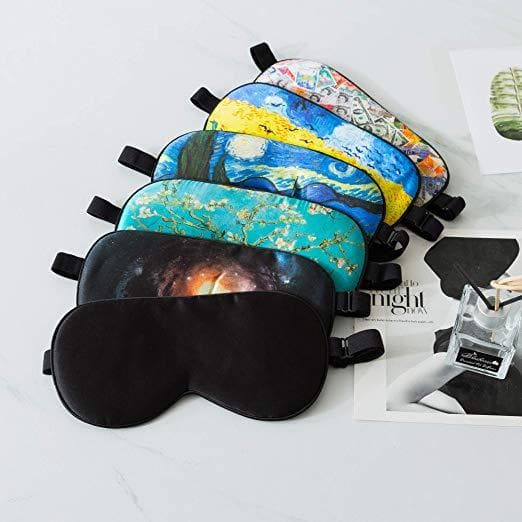 ZIMASILK 100% Natural Silk Sleep Mask Blindfold(Pattern 5)