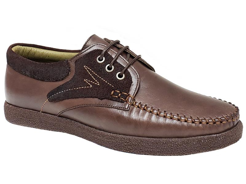 FCL X Vernik - Apron Toe Stitching Gentlemen's Desert Shoes