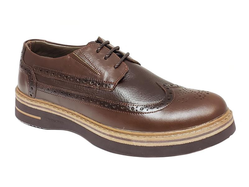 Long Wing Semi Brogue Gentlemen's Derby