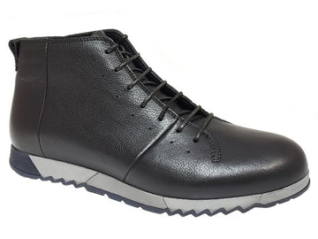 Zigzag Sole Gentlemen's Lace Up Sneaker Boot