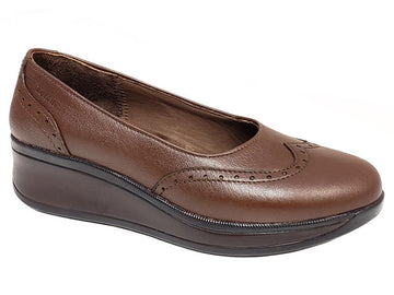 Minneapolis Wingtip Quarter Brogue Ladies' Wedges