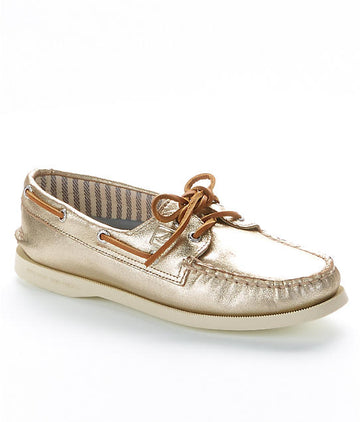 Sperry A/O Platinum Kidsuede
