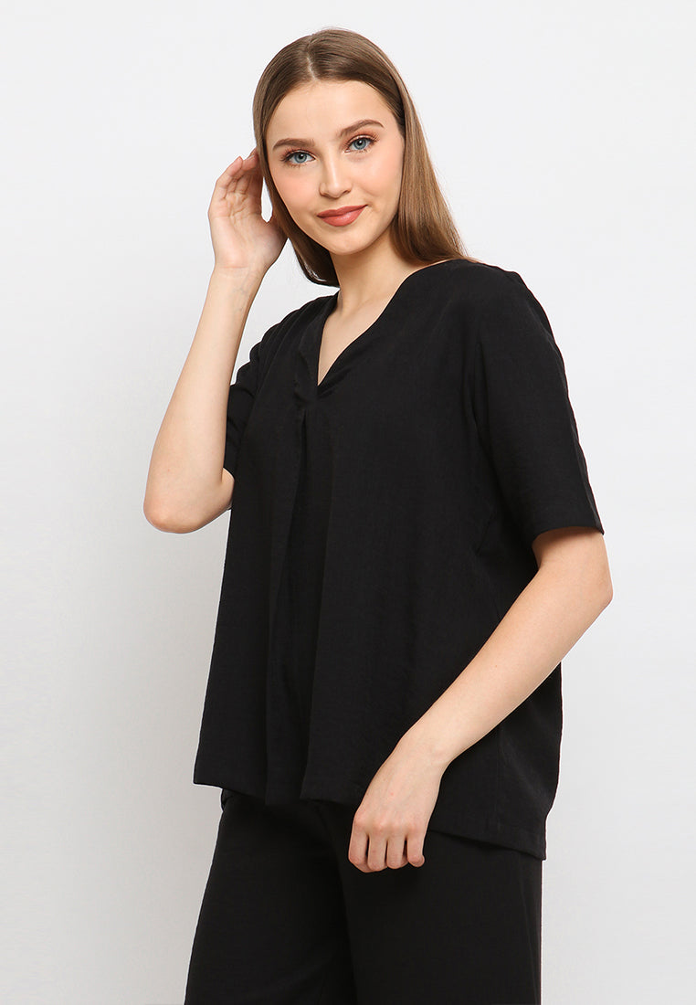 Lowery Top Black (3961455542317)