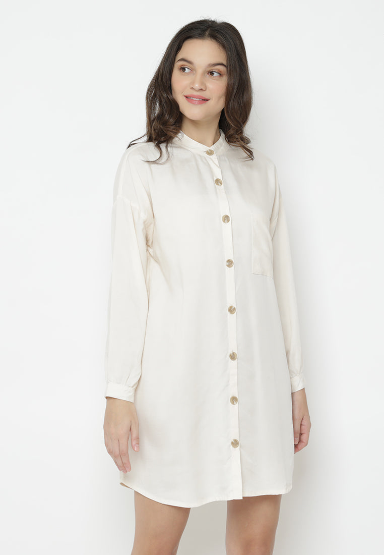 Acheline Dress Beige