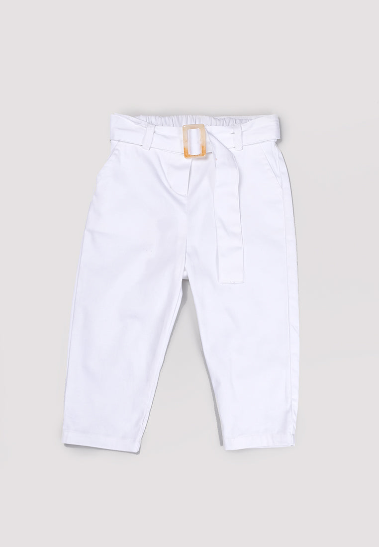 Agui Pants White (3-6 Days)