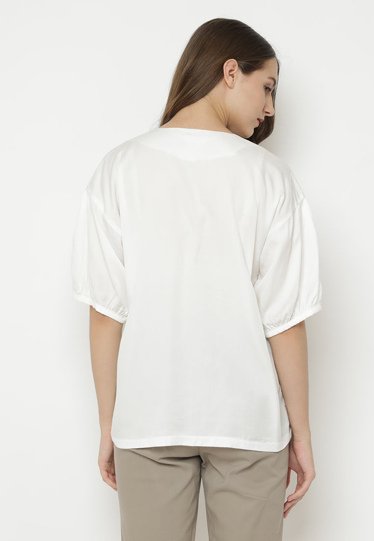 Aiden Top White