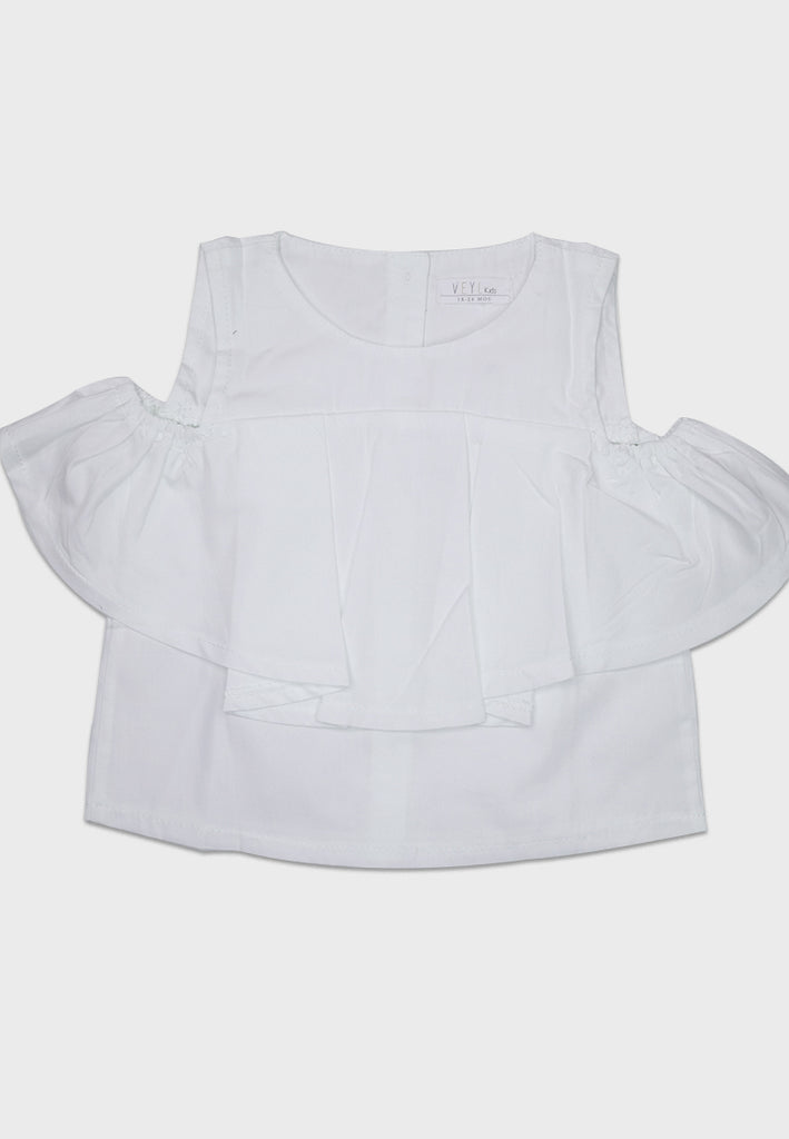 Hollie Top White