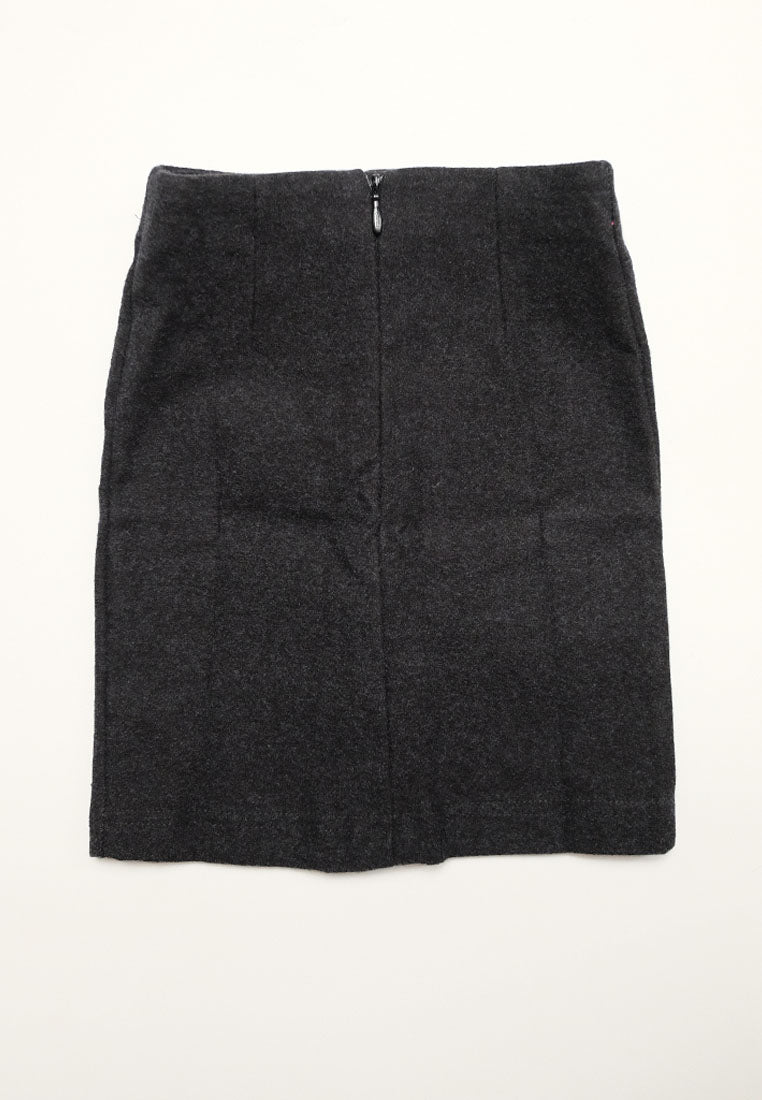 Beve Skirt Black (1815641227309)