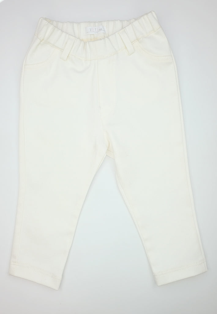 Catla Jegging Pants White