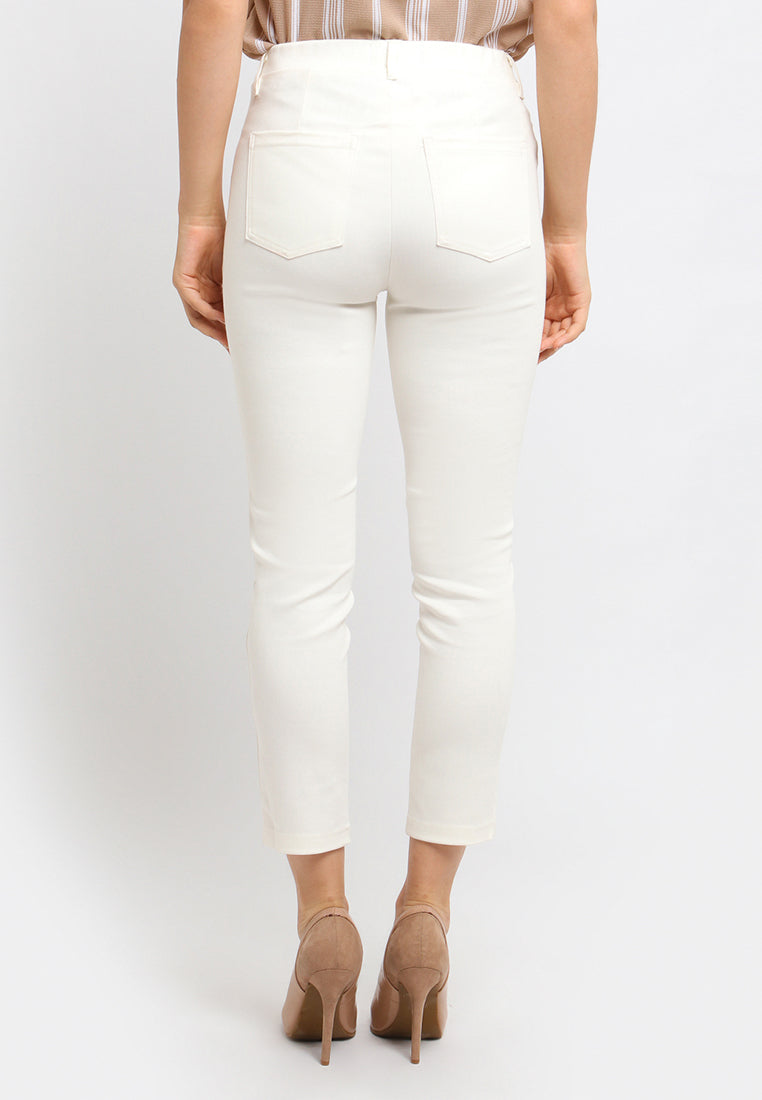 Catlana Jegging Pants White (3979578966061)