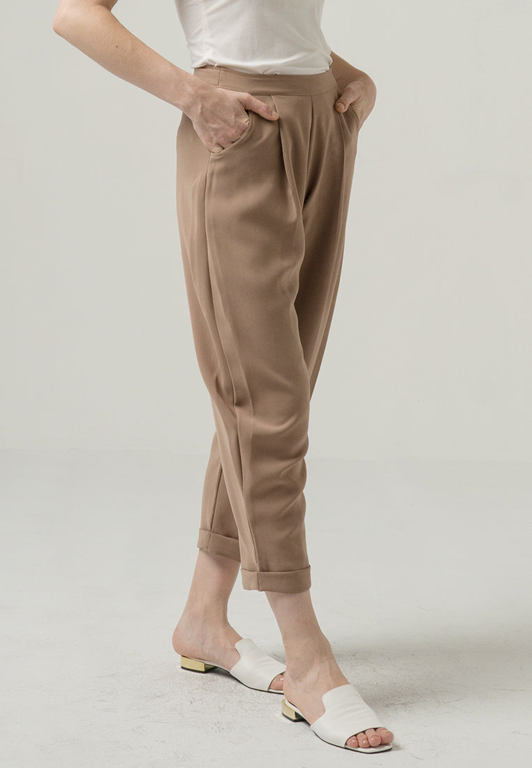 Daiseana Pants Brown (3961353469997)