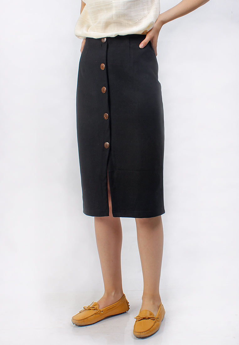 Denise Skirt Black (1815752900653)