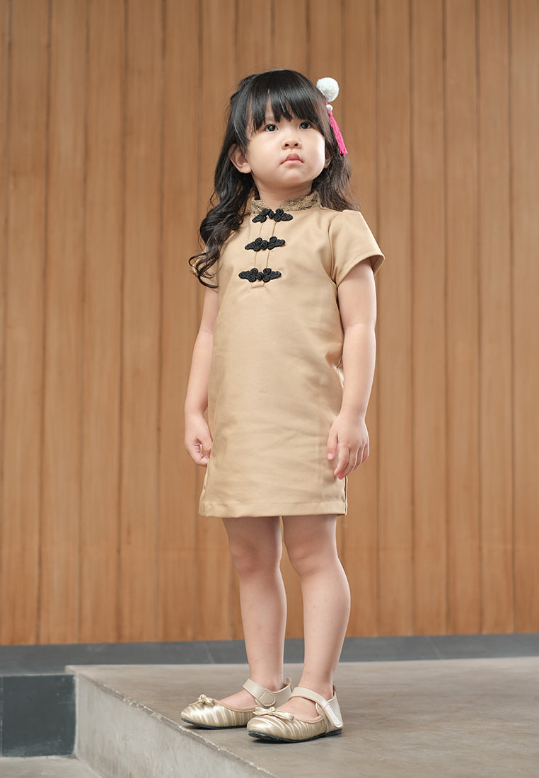 Deshi Dress Brown