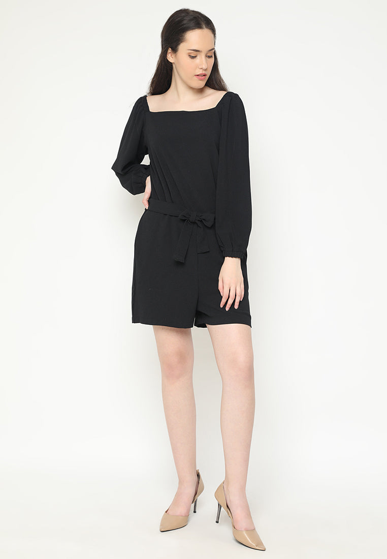 Elvareta Jumpsuit Black (3-6 Days)