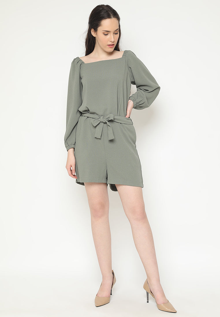 Elvareta Jumpsuit Green (3-6 Days)