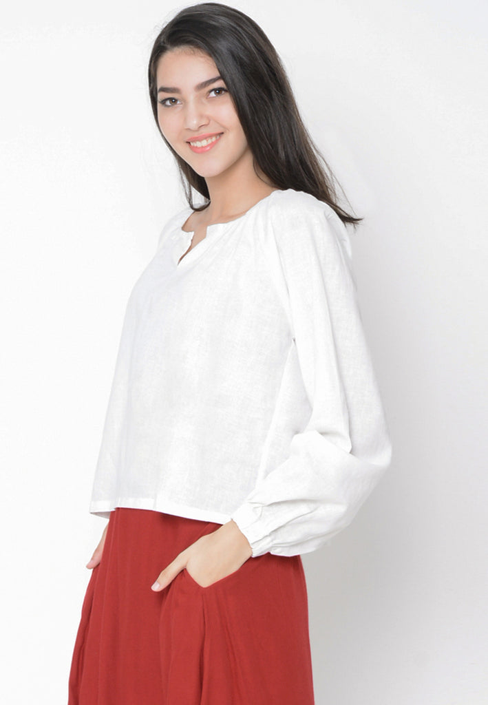 Enzy Top White