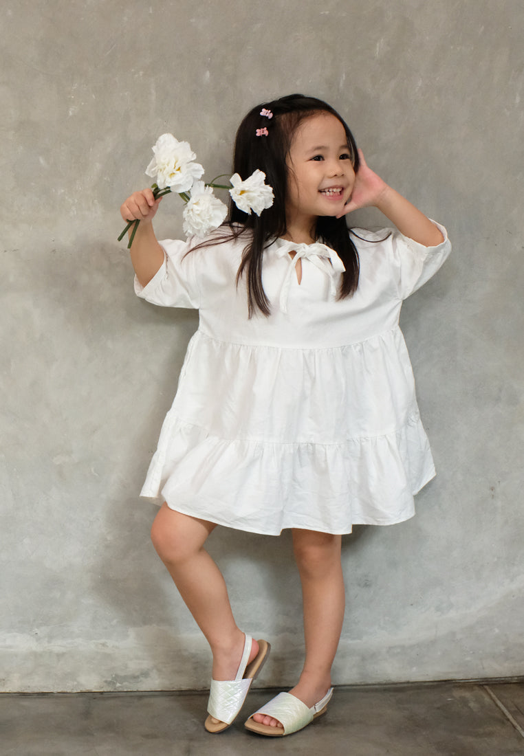 Esther Dress Off White