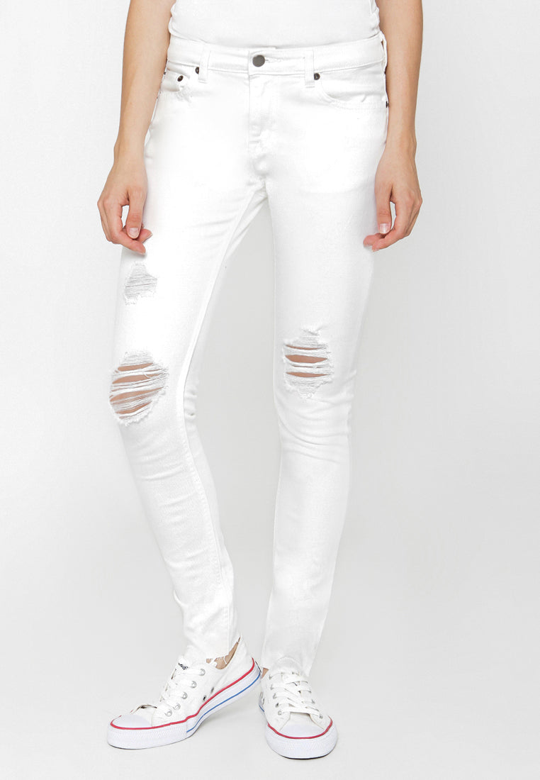 Gisha Denim White