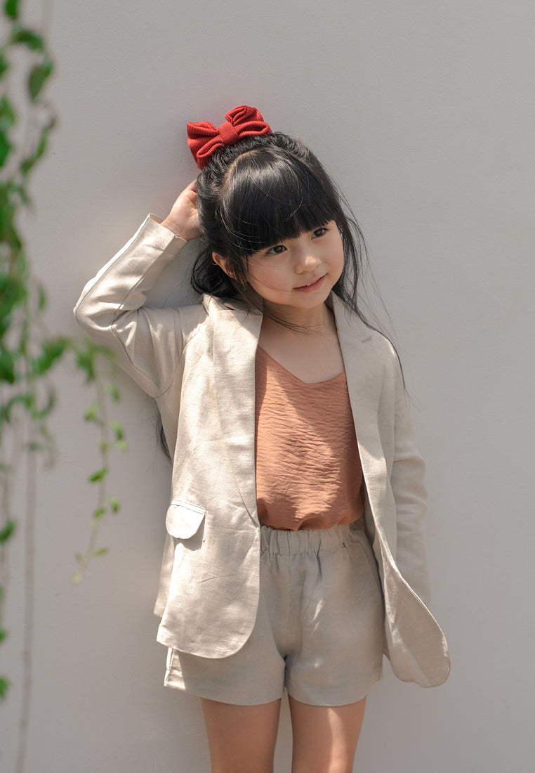 Grateful Set Blazer Beige