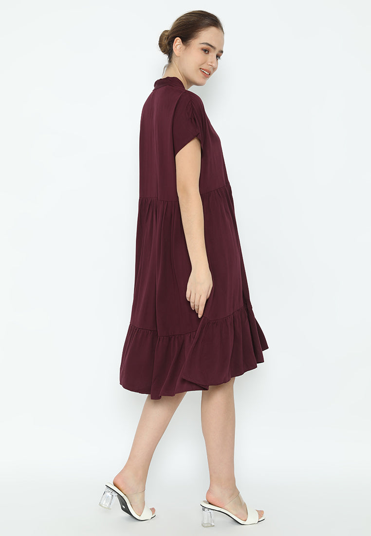 Hejia Dress Purple