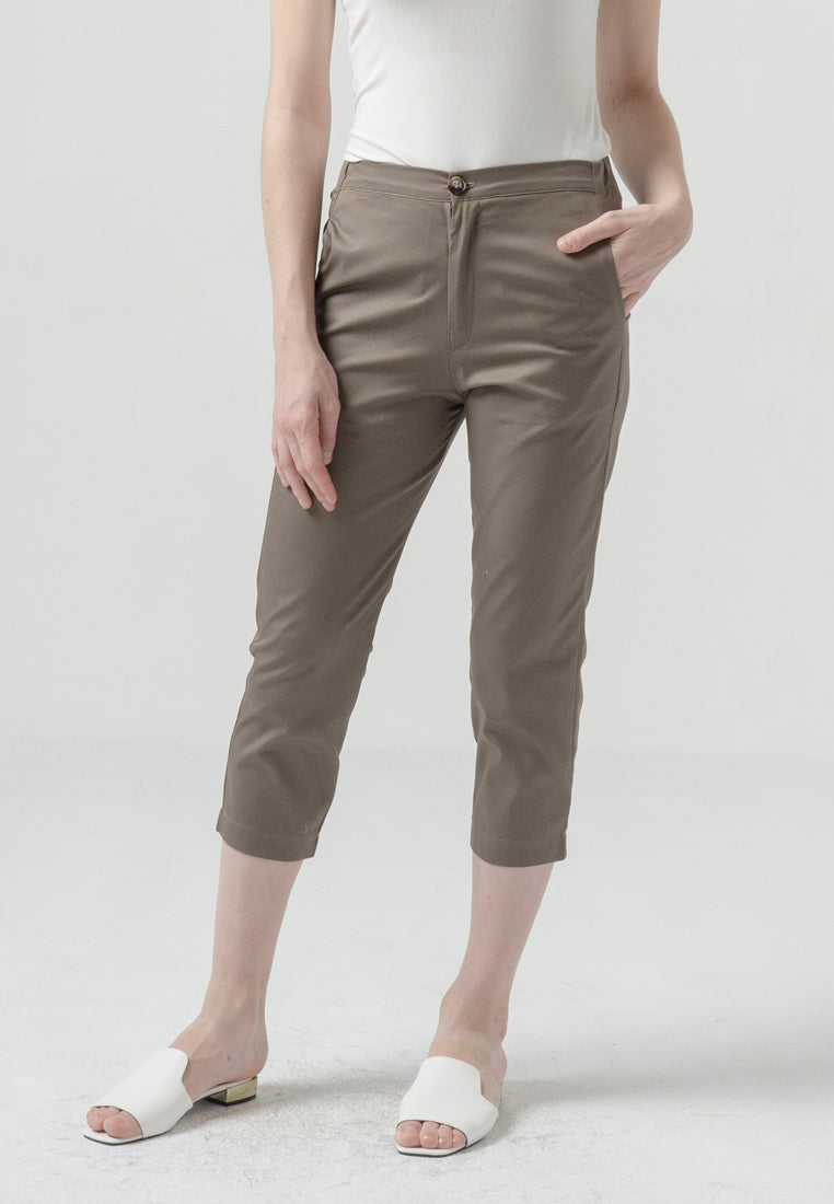 Jaquelen Pants Brown (3885110886445)