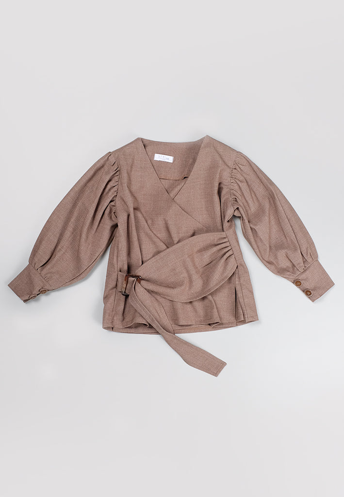 Lore Top Brown (3-6 Days) (4168586723373)