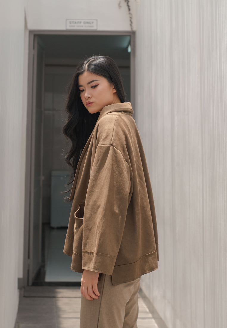 Love Suede Outer Army