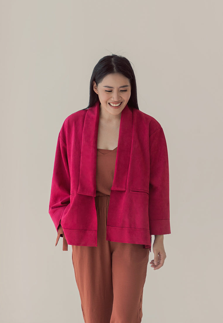 Love Suede Outer Red Velvet