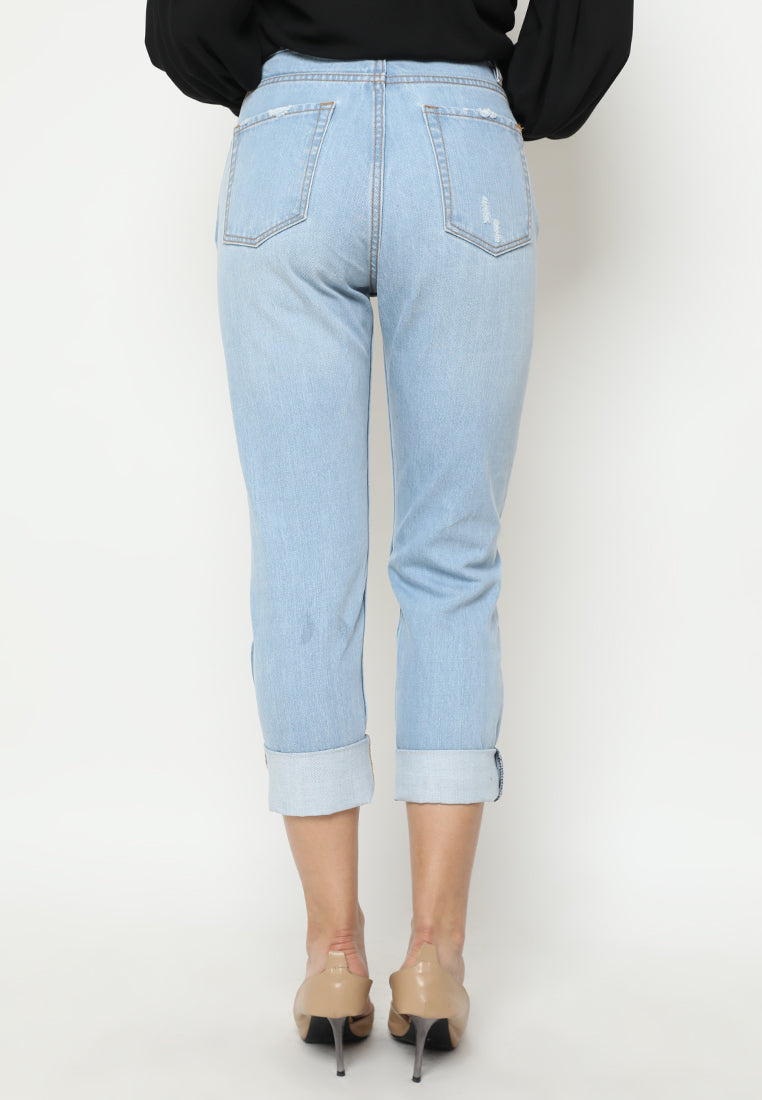Marcella Denim Pants Light Blue